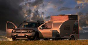 CityCaravan C4 - mini Pop Up caravan