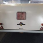 Historický karavan KIP (kuře) Hoogeveen Nederland