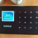 GSM alarm do karavanu - centrála KERUI