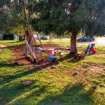 Dětské hřiště kemp Bavorsko