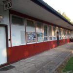 Kemp Velehrad - budova se sociálním zařízením