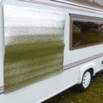 Tepelná izolace oken karavanu