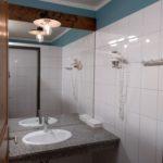 Umývárny se sprchami v kempu Berau am Wolfgangsee