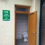 Výlevka pro chemické WC v kempu Berau am Wolfgangsee