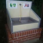 Výlevka odpadní vody v kempu